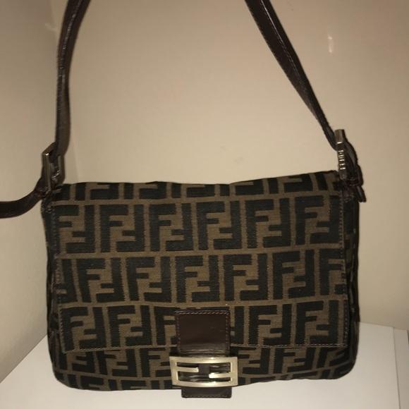 7197775d242b Fendi Handbags - Authentic fendi zucca momma mama hobo